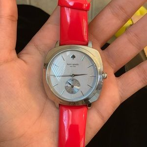Kate Spade Red Leather Watch!